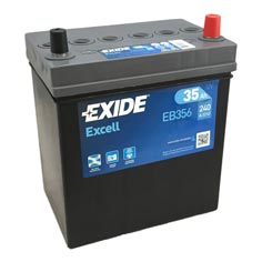 Baterie auto Exide Excell 35 Ah - EB356