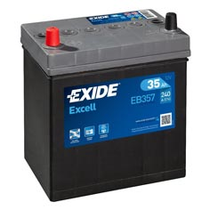 Baterie auto Exide Excell 35 Ah - EB357
