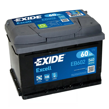 Baterie auto Exide Excell 60Ah EB602